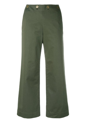 Theory wide leg trousers - Green