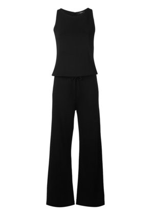 Theory drawstring jumpsuit - Black