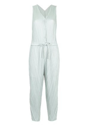 Pleats Please By Issey Miyake Thicker Bounce jumpsuit - Green
