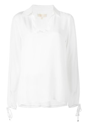 Michael Michael Kors v-neck blouse - White