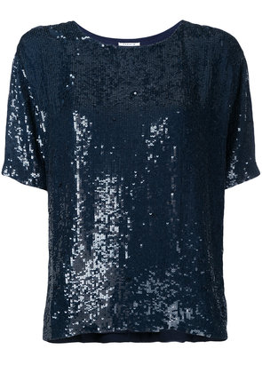P.A.R.O.S.H. Gughi sequined top - Black