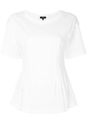 Theory flared hem top - White