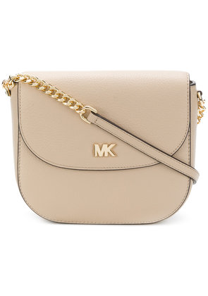 Michael Michael Kors Half-Dome crossbody bag - Nude & Neutrals