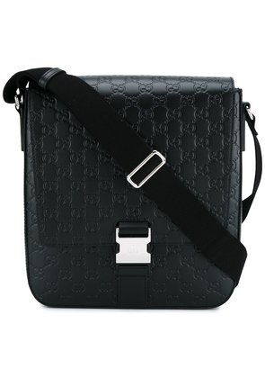 Gucci 'Signature' messenger bag - Black