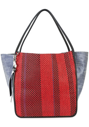 Proenza Schouler Woven Extra Large Tote - Red