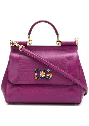 Dolce & Gabbana small Sicily bag - Pink & Purple