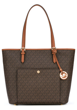 Michael Michael Kors Jet Set Travel large tote - Brown