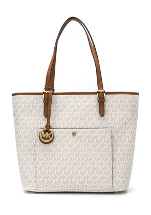 Michael Michael Kors Jet Set Travel large tote - Nude & Neutrals