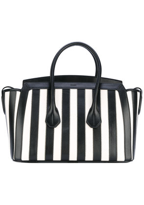 Bally striped tote - Black