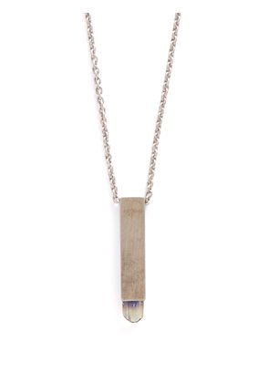 Talisman Sterling silver amulet necklace
