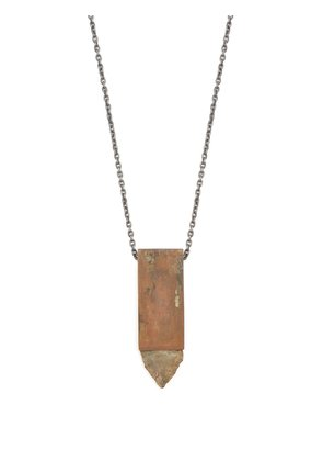 Talisman arrowhead sterling silver necklace