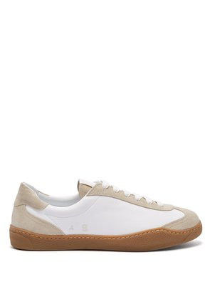 Lars leather and suede trainers
