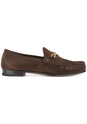 Tom Ford classic loafers - Brown
