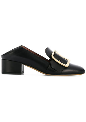 Bally side brooch embelished pumps - Black