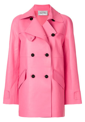 Valentino Valentino double breasted jacket - Pink