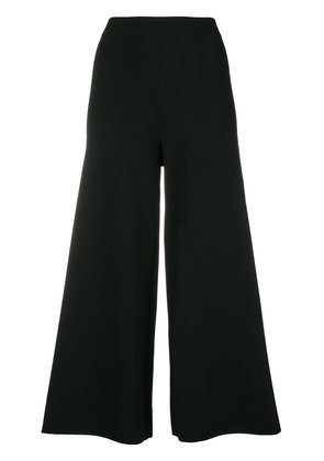 Theory flared cropped trousers - Black