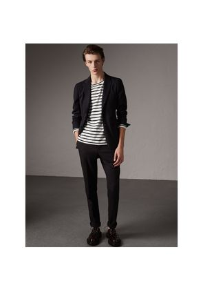 Burberry Soho Fit Herringbone Cotton Blend Jacket, Size: 48R