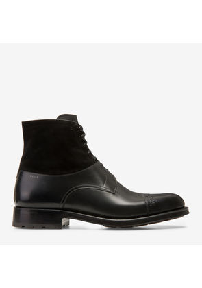 Bally Lucien Black, Men's calf leather boot in black