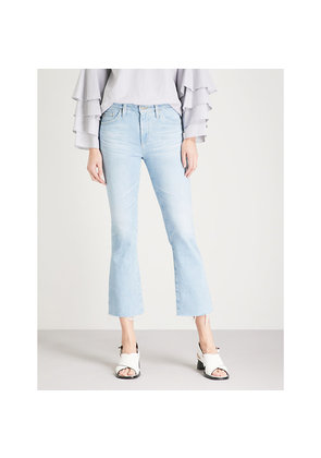 The Jodi high-rise flared cropped jeans