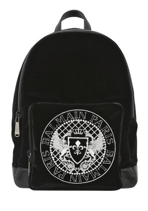 VELOUR COTTON BACKPACK