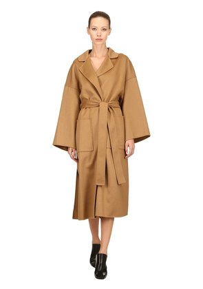 OVERSIZED WOOL & CASHMERE COAT