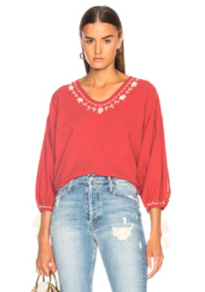 The Great Vineyard Tunic in Red