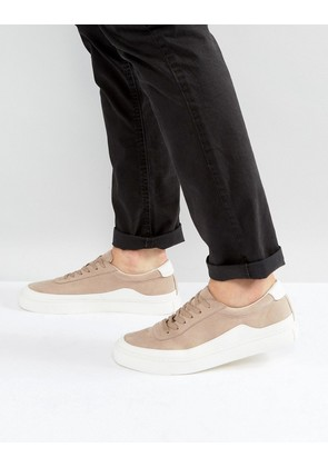 ASOS Trainers In Stone With White Wrap - Stone