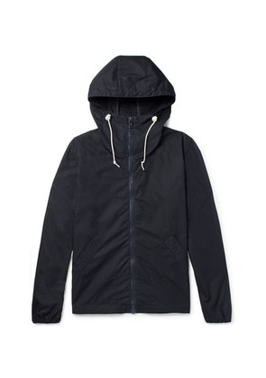 Arpenteur - Cotton-shell Hooded Jacket - Navy