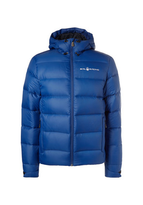 Gravity Quilted Ripstop Hooded Down Jacket