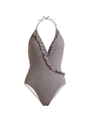 The Nadine striped swimsuit