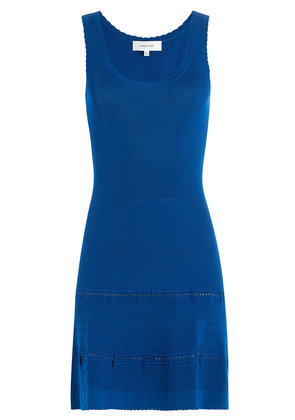 Carven Stretch Dress with Cut Out Detail