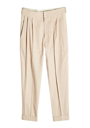Isabel Marant Pants with Linen and Silk