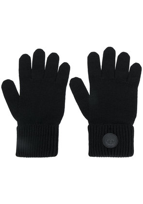 Dsquared2 ribbed gloves - Black