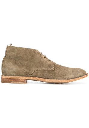 Officine Creative Softy lace-up boots - Nude & Neutrals