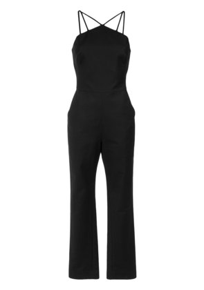 Andrea Marques strappy jumpsuit - Black