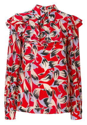 No21 printed blouse - Red