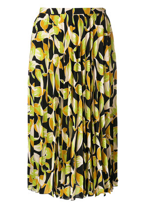 No21 pleated skirt with print - Multicolour