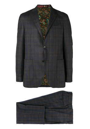 Etro classic two-piece suit - Grey