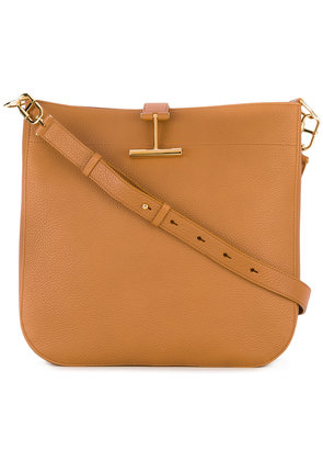 Tom Ford T Clasp Hobo bag - Brown