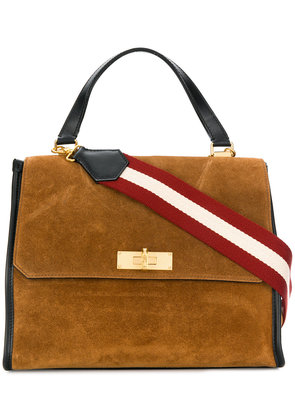 Bally square shaped crossbody bag - Brown