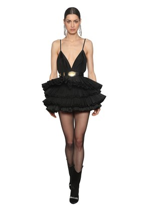 SILK TAFFETA TUTU DRESS