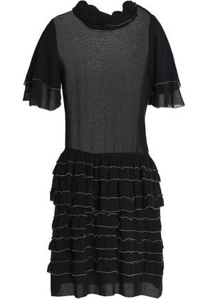 Discount Many Kinds Of Isabel Marant Woman Lindley Belted Embellished Silk Mini Dress Black Size 38 Isabel Marant New Release Outlet Locations Cheap Online Discount Amazon WcMjZqrhg