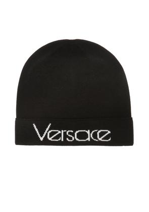 Versace Logo-embroidered hat