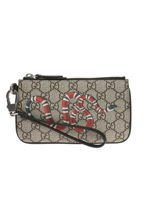 Gucci Wallet with a snake motif