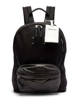 Stereotype canvas backpack