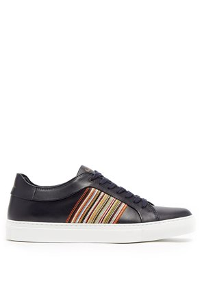 Artist Stripe leather low-top trainers
