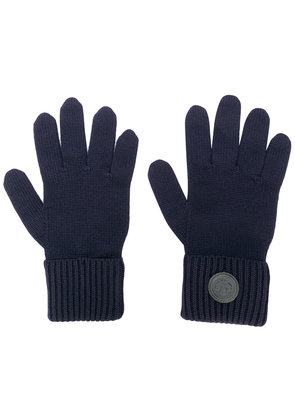 Dsquared2 logo plaque gloves - Blue