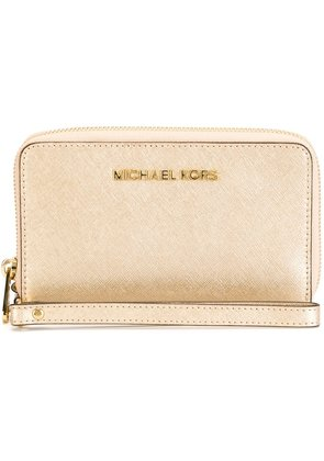 Michael Michael Kors 'Jet Set Travel' wallet - Metallic