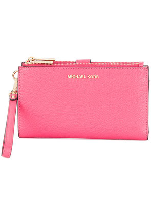 Michael Michael Kors Mercer zipped wallet - Pink & Purple