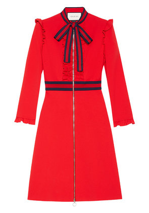 Gucci Viscose jersey dress - Red